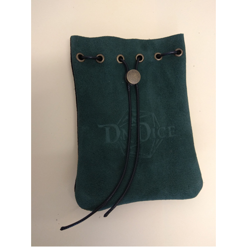 DnDice Adventure Gear: Suede Green Bag of Holding