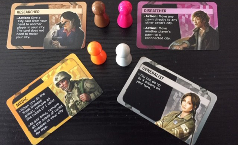 Hot Zone - North America Player Cards