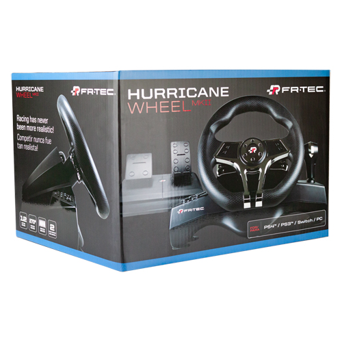Hurricane Wheel MkII - PC/PS4/Nintendo Switch