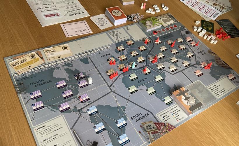 Pandemic Legacy Season Zero Gameplay
