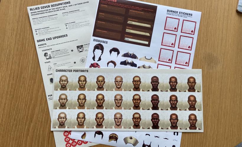 Pandemic Legacy Season Zero Stickers