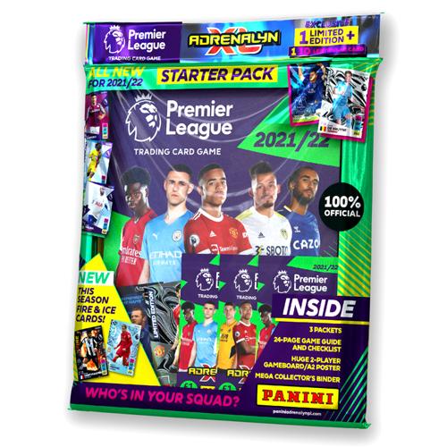 Premier League 2021/22 Adrenalyn XL Starter Pack