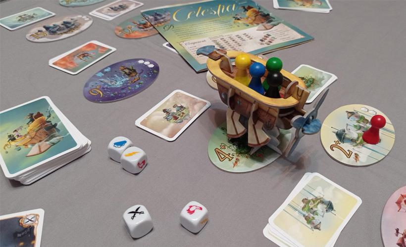 Semi-Cooperative Games Celestia