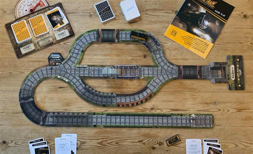 Semi-Cooperative Games Stop The Train