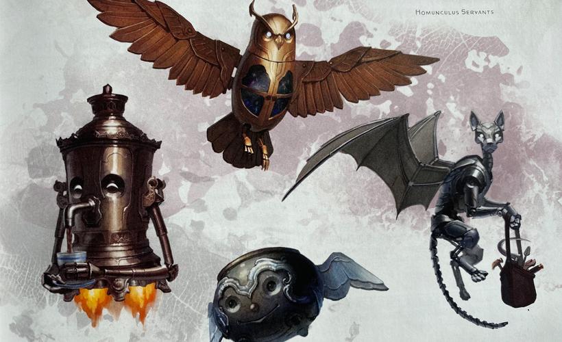 Tasha's Cauldron Of Everything Servents