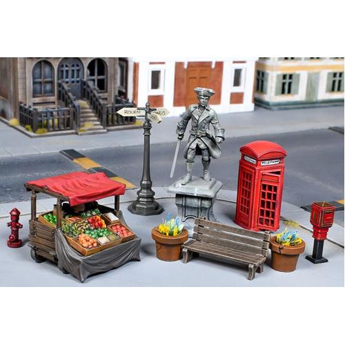 TerrainCrate: Town Square