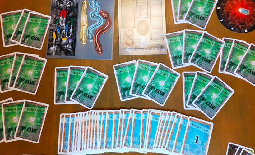 The Cursed Labyrinth Components