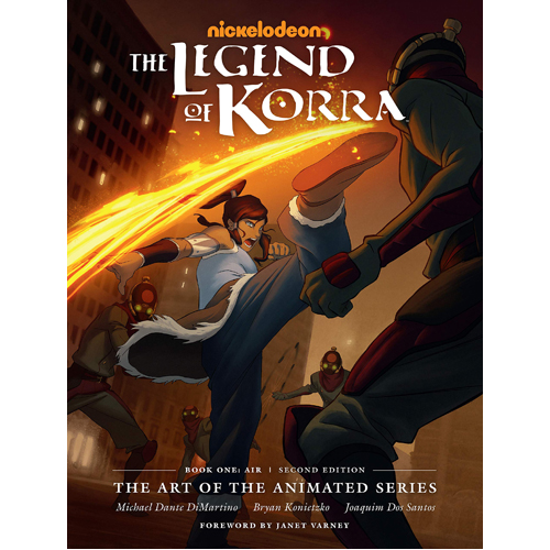 The Legend of Korra: The Art of the Animated Series Book One: Air (Second Edition)