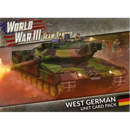 World War III: West German Unit Cards