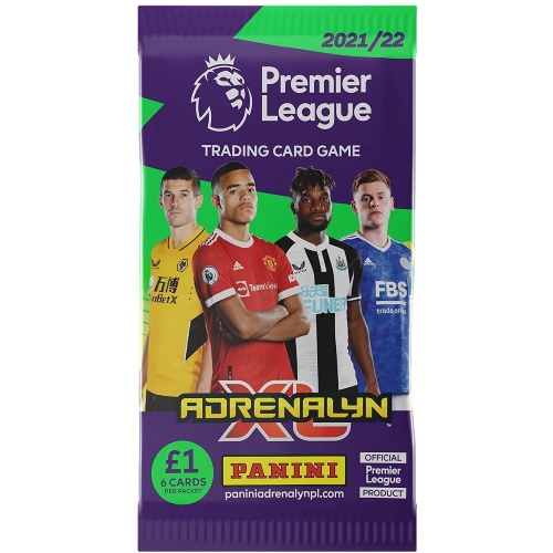 Premier League 2021/22 Adrenalyn XL Booster Pack