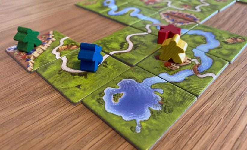 carcassonne playthrough
