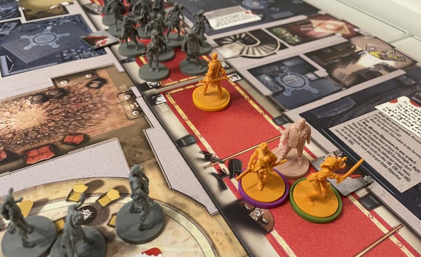zombicide zc moving round the board