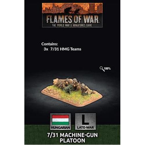 Flame Of War: 7/31 MG Platoon (x3)