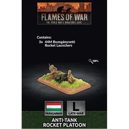 Flames of War: Hungarian: Anti-Tank Rocket Platoon