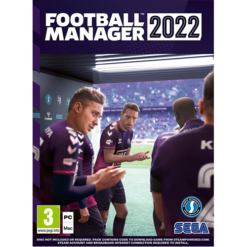 Football Manager 2022 - PC (Code In A Box)