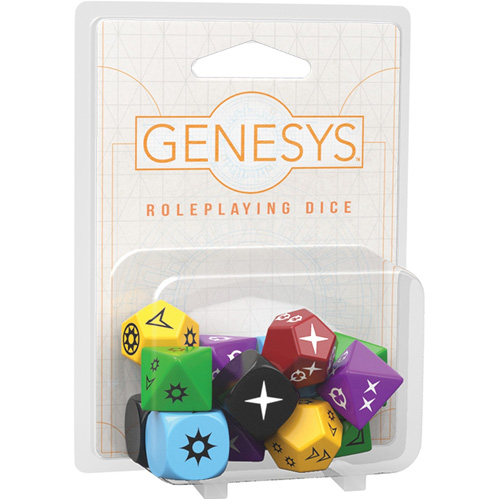 Genesys RPG: Roleplaying Dice Pack (Edge Studio Edition)
