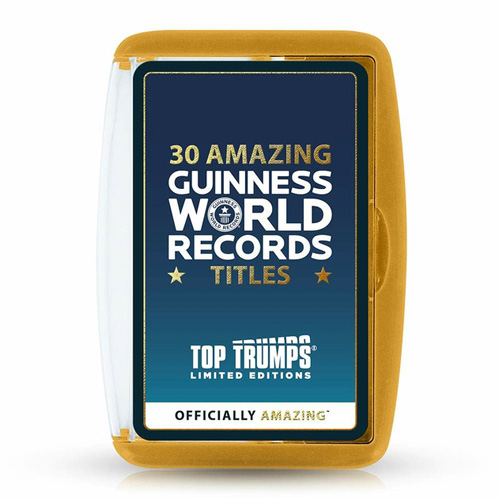 Guinness World Records - Top Trumps