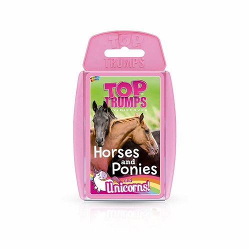 Horses Ponies and Unicorns - Top Trumps