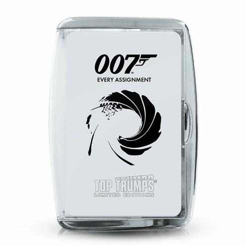 James Bond Every Assignment - Top Trumps