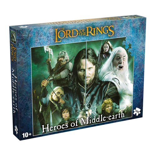 Lord of the Rings Heroes of Middle Earth (1000 Pieces)