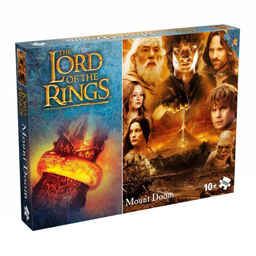 Lord of the Rings Mount Doom (1000 Pieces)