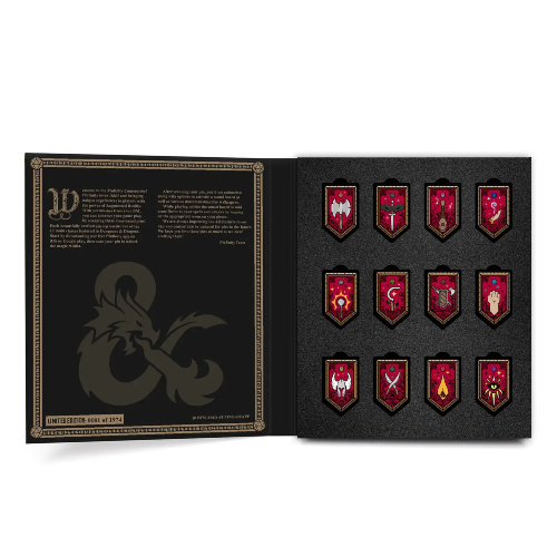 Pinfinity AR Pins: D&D - Limited Edition Class Pin Set