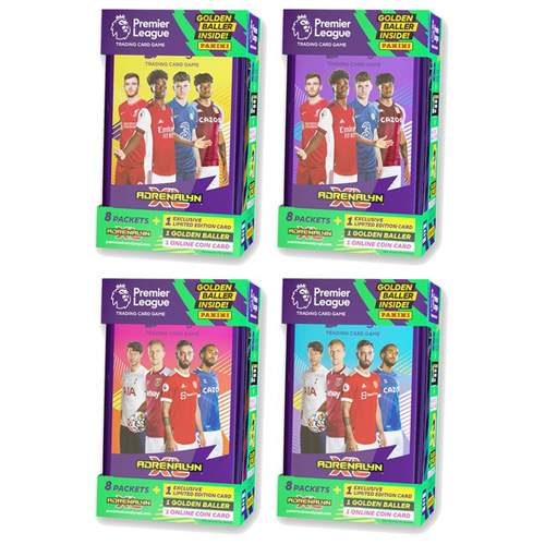 Premier League 2021/22 Adrenalyn XL Classic Tin - Assorted (One Supplied)