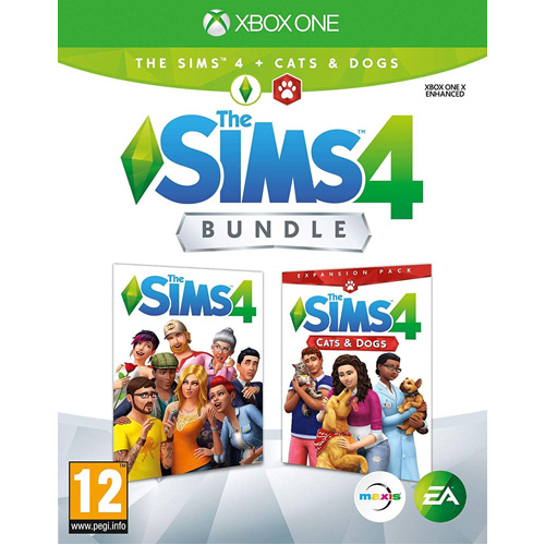 The Sims 4 and Cats and Dogs - Xbox One