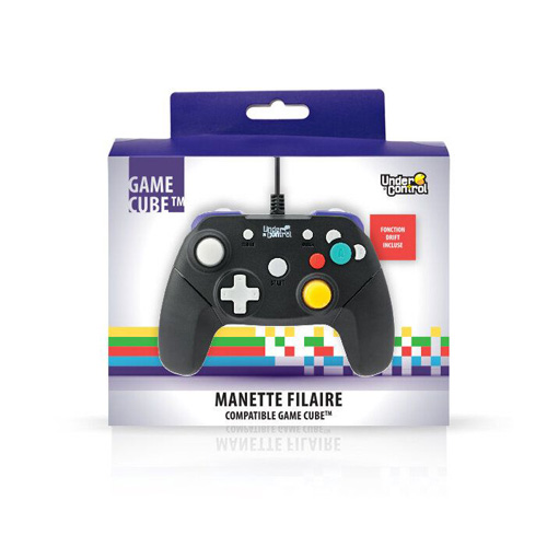 Wired Gamecube Controller Black