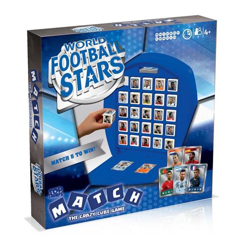 World Football Stars Blue - Top Trumps Match