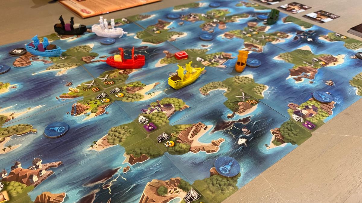 tiny epic pirates moving ships
