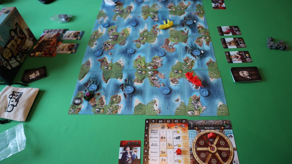 tiny epic pirates ship game play