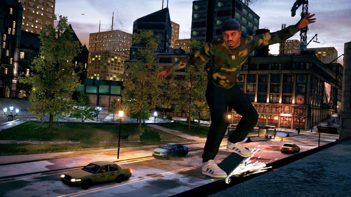 tony hawk's pro skater 1+2 cityscape