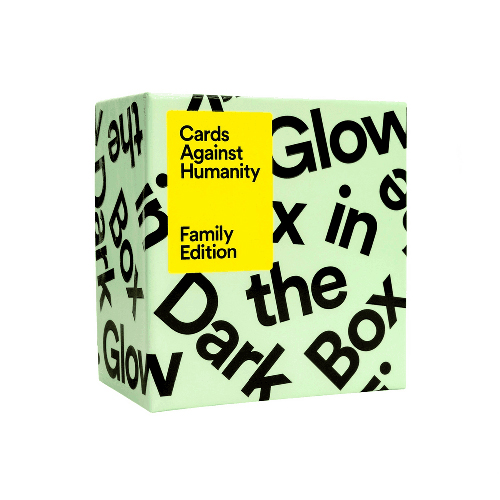 Cards Against Humanity: Family Edition - Glow In The Dark Box
