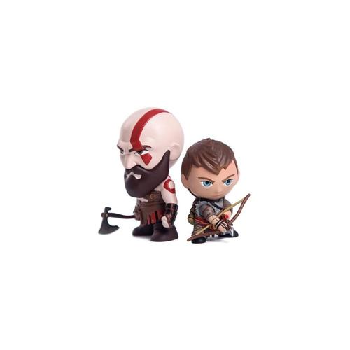 Gaming Heads: God of War - Kratos & Atreus Mini Figures