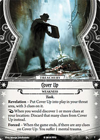 Arkham Horror: The Card Game - Cover Up
