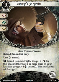 Arkham Horror: The Card Game - Roland's Special
