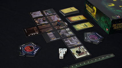 Betrayal at House on the Hill - Components
