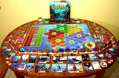 Diver City Game Board