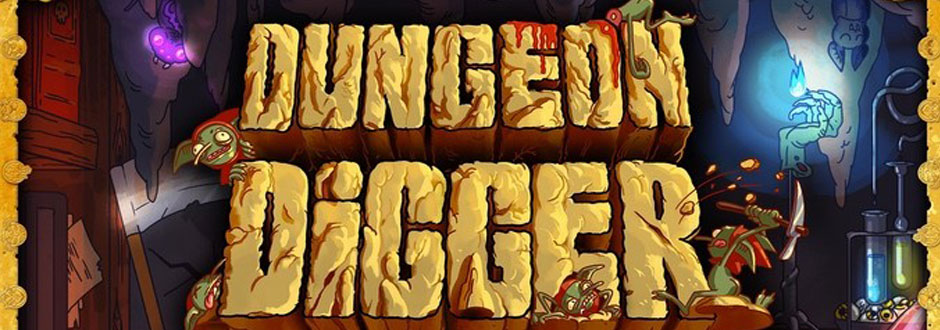 Dungeon Digger Front Cover